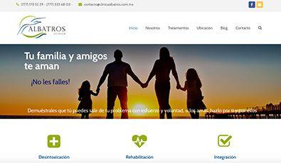 Sitio Web | Clínica Albatros