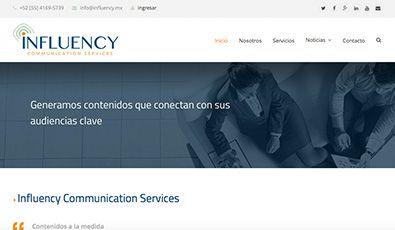 influency-comunicacion-web