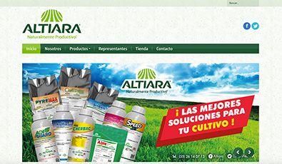 Sitio Web | Altiara