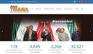 Sitio Web | Jorge Triana